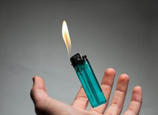 How to refill a butane lighter