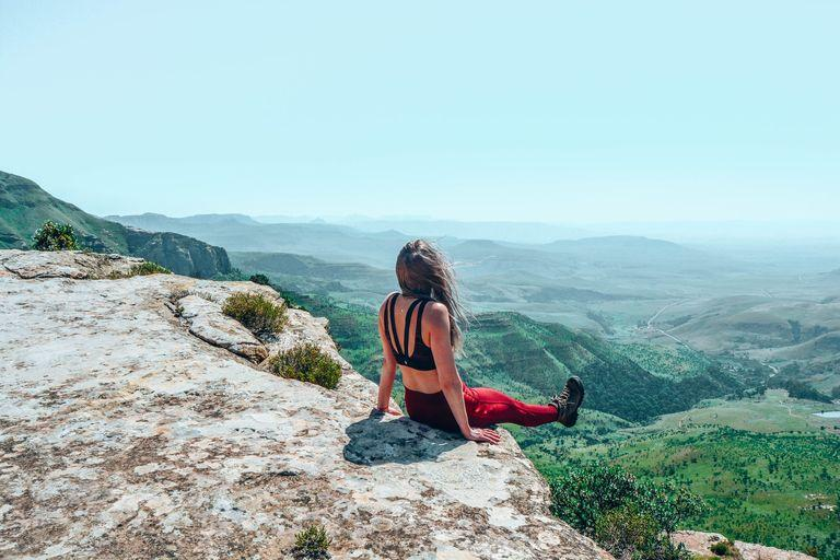 hiking tones your body