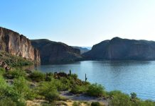 canyon lake swimming arizona
