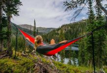 how far apart should trees be for a hammock