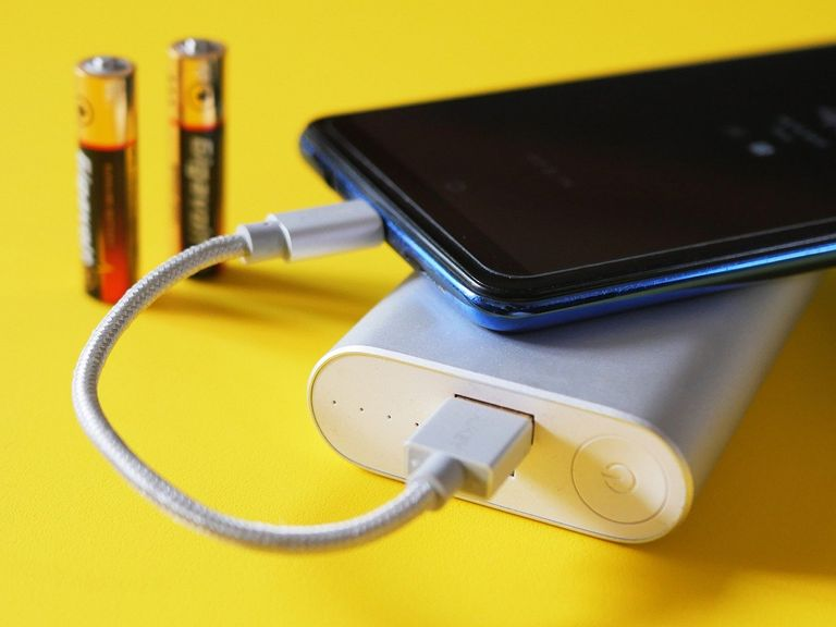 how to charge phone while camping